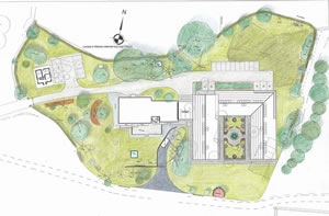 Plans for Pirton Grange